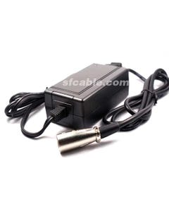 Replacement Scooter Battery Charger 36V 1.5A Male 3-Pin XLR