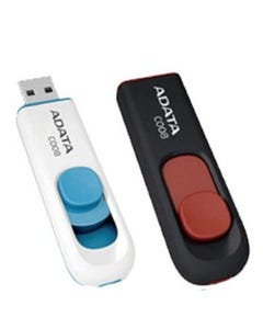 2GB Retractable USB Flash Drive