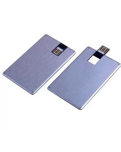 2GB Metallic Credit Card Style USB Flash Drive