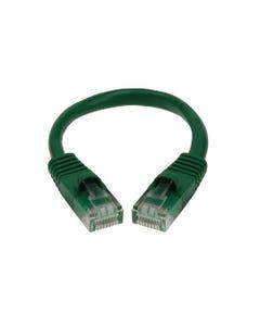 1ft Cat5E Unshielded (UTP) Ethernet Network Cable - Green