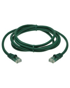15ft Cat5E Unshielded (UTP) Ethernet Network Cable - Green