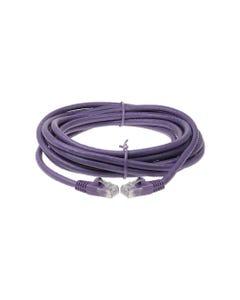 150ft Cat6 Unshielded (UTP) Ethernet Network Cable-Purple