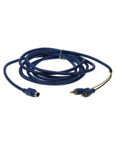 10ft S-Video Mini4 Male to Two RCA Male Digital Cable