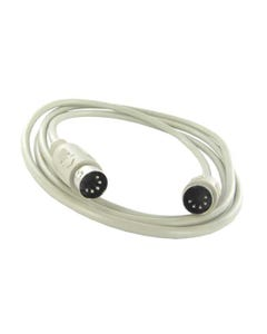 15ft Din5 M/M 5C Straight Thru Cable - Beige