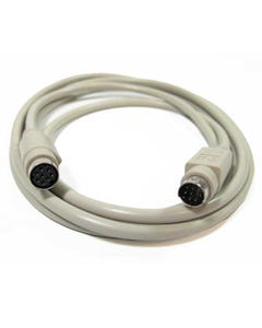6ft MiniDin8 M/F 8C Straight Thru Extension Cable
