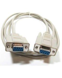 DB9 F/F 9C Serial Straight Thru Cable