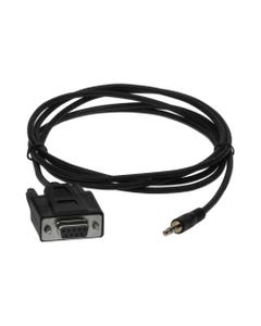 6ft DB9 Female to 3.5mm Serial Cable (NO GROUND-Pin5)