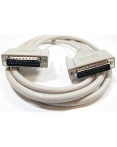 IEEE-1284 DB25 M/M Parallel Printer Cable