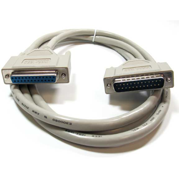 25C 10 ft Printer // Parallel Cables Mold DB25 Male // Centronics 36 Printer // Parallel Cables Male CN36