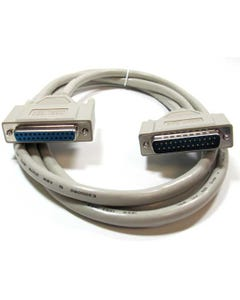 IEEE-1284 DB25 M/F Parallel Printer Extension Cable