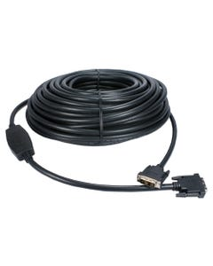 30m FullHD DVI-D 720p/1080p PC/HDTV Video Cable with Built-in EQ Extender