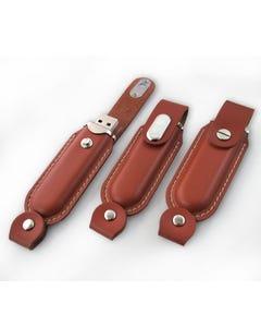 1GB USB Classic Leather Flash Drive