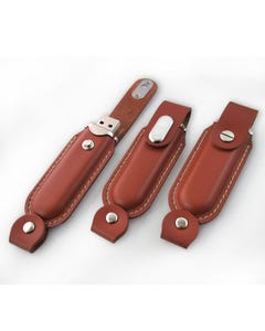1GB USB Classic Leather Flash Drive
