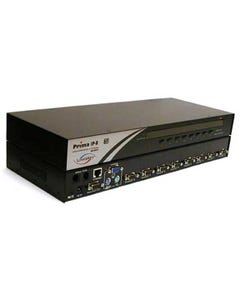"8 Port Linkskey Prima IP USB/PS2 IP KVM Switch 19"" Rt 1U w/ O.S.D. & Daisy Chain"