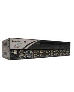16 port Linkskey Prima Cascadable Rackmount USB PS/2 KVM Switch w/ OSD