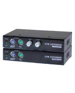 Linkskey Cat5 PS2 VGA KVM Extender Set