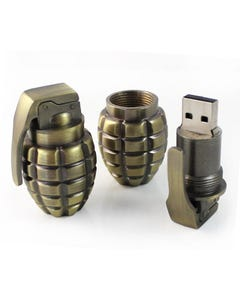 1GB USB Grenade Explosion Flash Drive