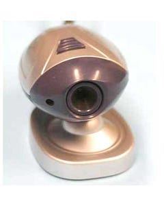 USB Color Web Camera with Built-in Microphone (100K Pixels)