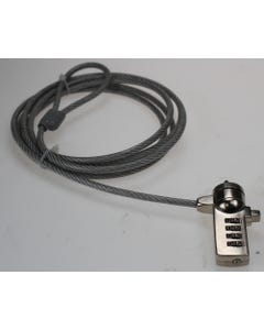 Notebook PC 3-Digit Combination Cable Lock