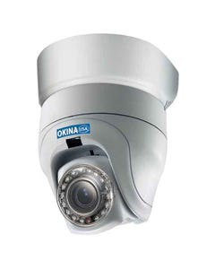 Indoor IP Mini PTZ 3x Dome 17 IR LED 480 TVL