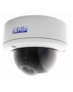 610TVL AI Vandal Dome Camera Dual Power
