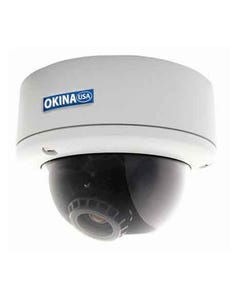 680TVL AI Vandal Dome Camera Dual Power