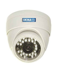 Indoor 24 IR Day & Night Dome Color Camera