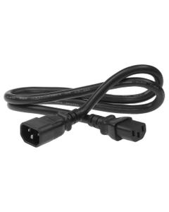 6ft C13 to C14 USA Power Cord with 18/3 SVT