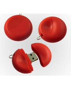 1GB Circle Shaped USB Flash Drive