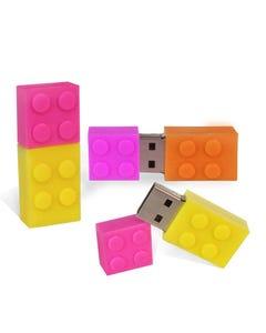 1GB Colorful Building Brick USB Flash Drive