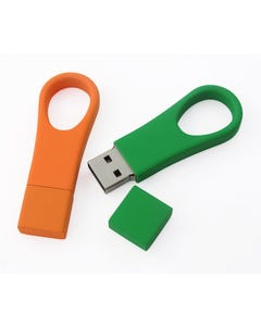 1GB USB Thumb Loop Flash Drive