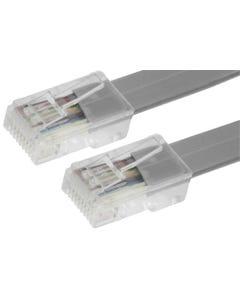 RJ45 8P8C Straight Modular Telephone Cable