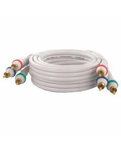 3 RCA Male to 3 RCA Male Premium Audio Video Cable