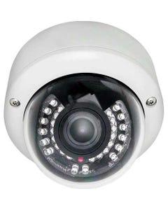 30 IR 3-AXIS Varifocal Effio-E Vandalproof Dome Camera Dual Power