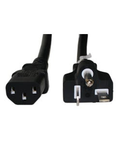 15ft NEMA 6-20P to C13 14/3 SJT Power Cord