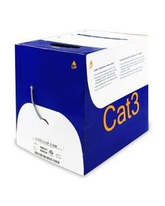 1000ft Cat 3 4 Pair 100MHz Bulk Wire, CMR