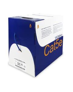 1000ft Cat5e Solid SHIELDED PLENUM Bulk Cable