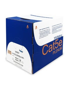 1000ft Cat5e Solid Cable Plenum, UL/ETL/CSA
