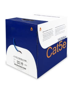 1000ft Cat5e Solid RISER 24AWG CMR Bulk Cable
