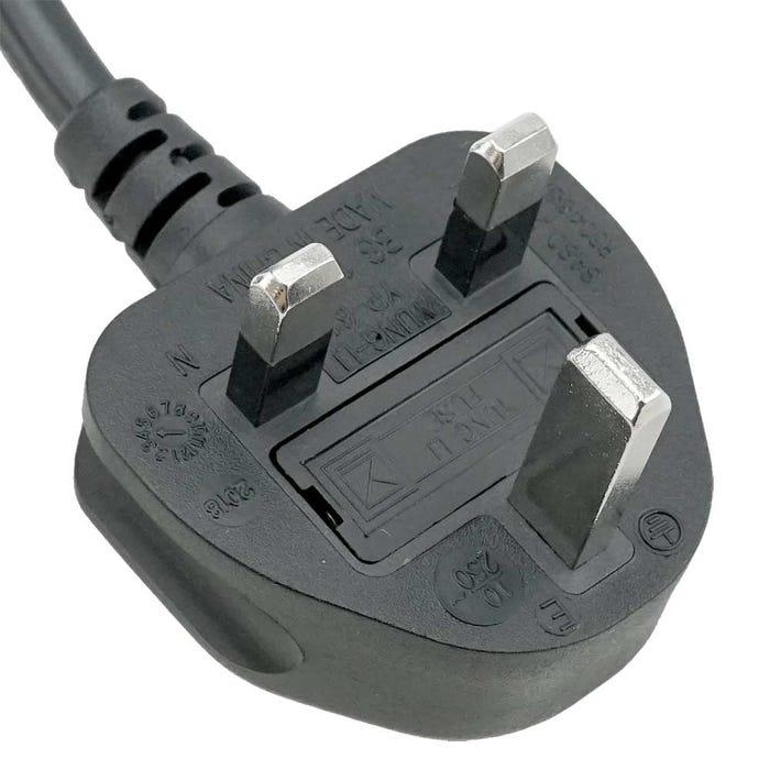 10ft UK BS1363 3-pin plug to IEC C13 Power Cord (Thicker Wire) Iec Plug Wiring on atex plug wiring, terminal block wiring, dot plug wiring, nema plug wiring, semi plug wiring, icc plug wiring, samsung plug wiring, usa plug wiring,