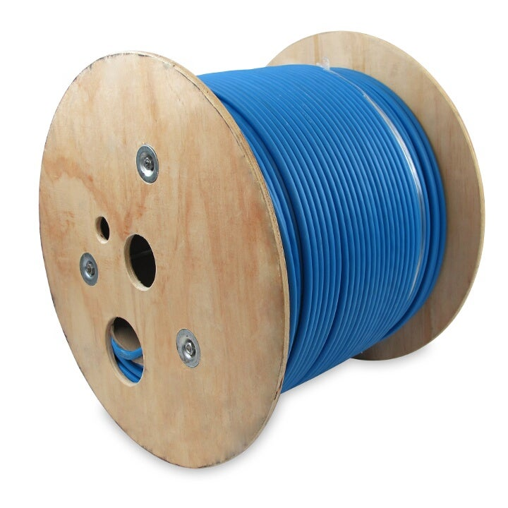 Blue 1000Ft Cat.6 Solid Wire Shielded PiMF