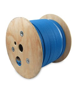 1000ft Cat6A 10G Solid Wire CMR Bulk Cable