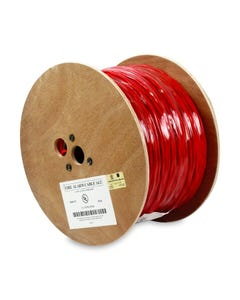 1000ft 14/2 Unshielded Fire Alarm Solid Wire Bare Copper Cable