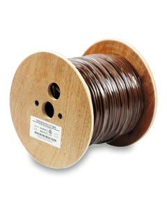 500ft 18/2 Unshielded Thermostat Solid Wire Bare Copper Cable