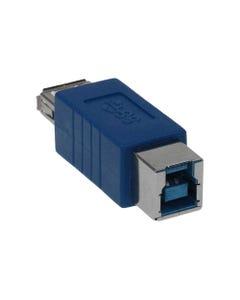 USB 3.0 A Female to B Female Adapter