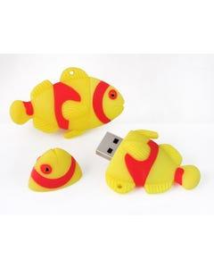 1GB USB Fishy Flash Drive