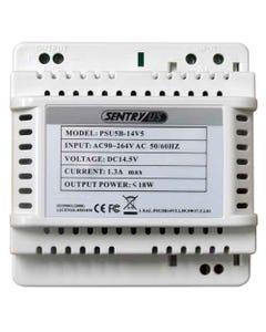 14.5V DC Power Supply for Intercom Hand Free Station Main & Sub Monitors