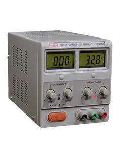 Regulated DC Power Supply Mastech HY3003D Variable Single Output 0-30V @ 0-3A