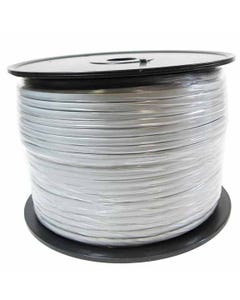 1000ft RJ11 6P4C 28 AWG Modular Telephone Cable