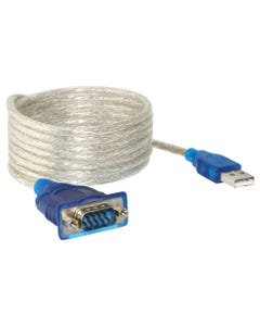 6ft USB to Serial DB9 RS232 Cable Adapter